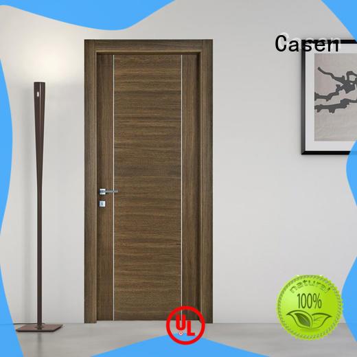 Casen luxury soundproof interior door simple for washroom