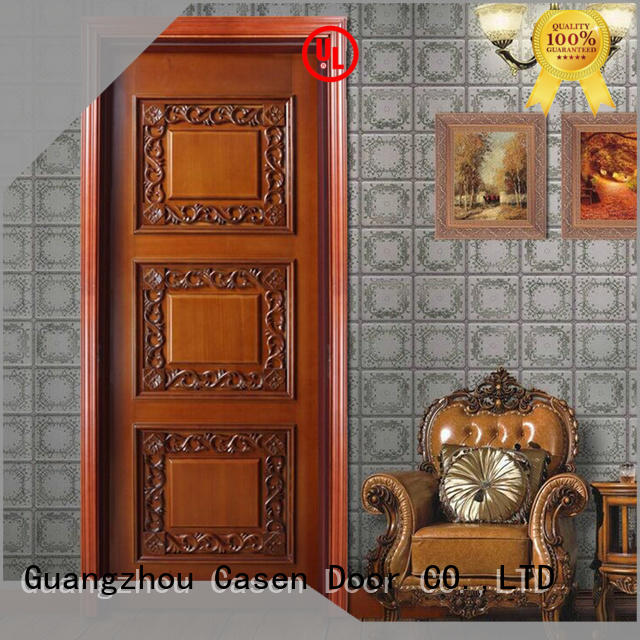 Casen american wooden door fashion for store decoration