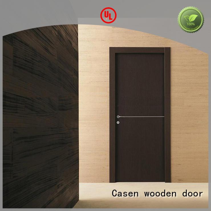 Hot interior solid wood interior doors stainless Casen Brand