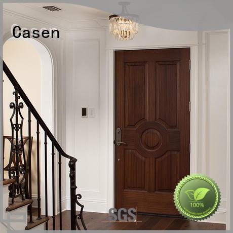 color wood solid core mdf interior doors door Casen company