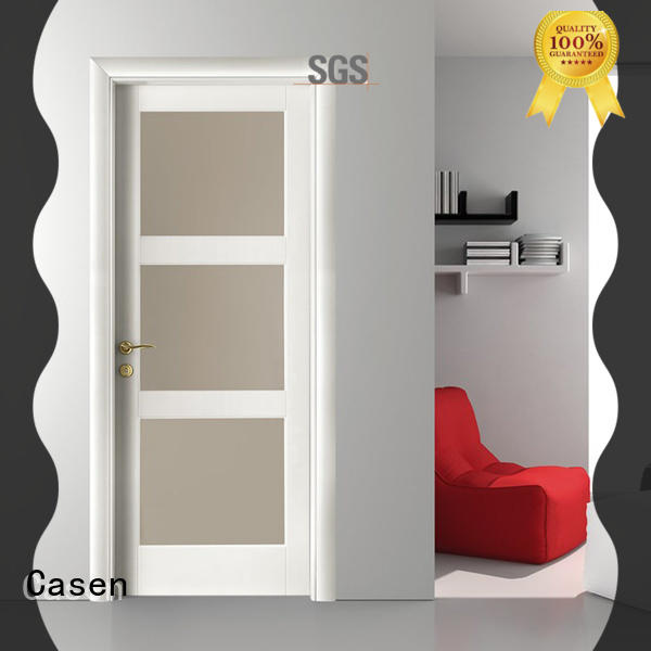 Casen wooden interior bathroom doors easy for bathroom