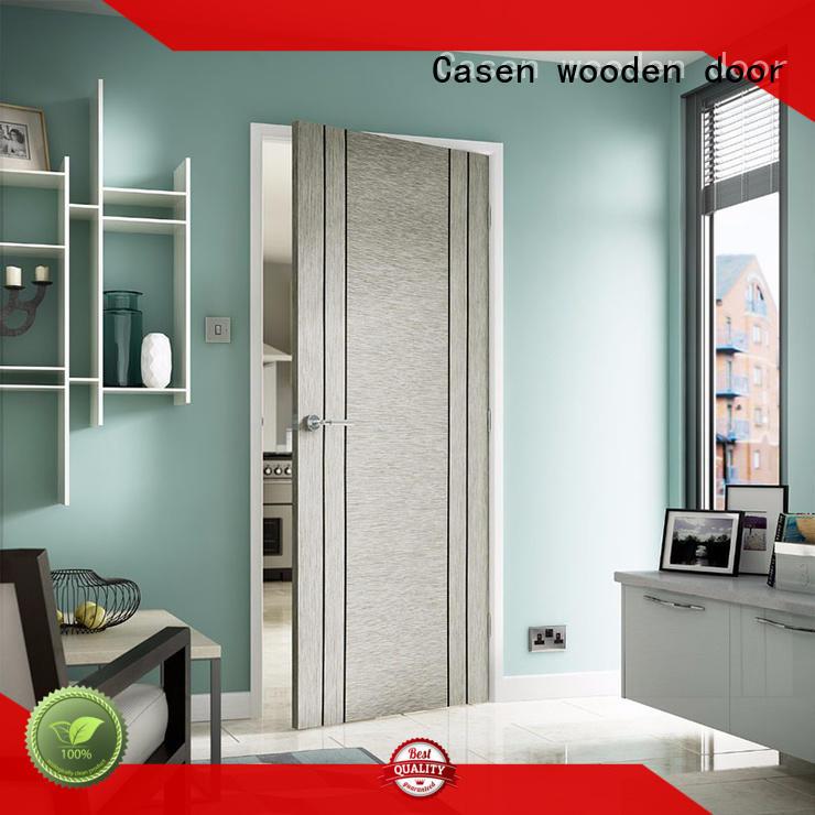 Casen modern design hardwood doors high-end for washroom