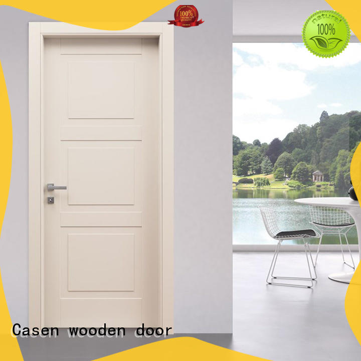 Casen high quality contemporary composite doors wooden