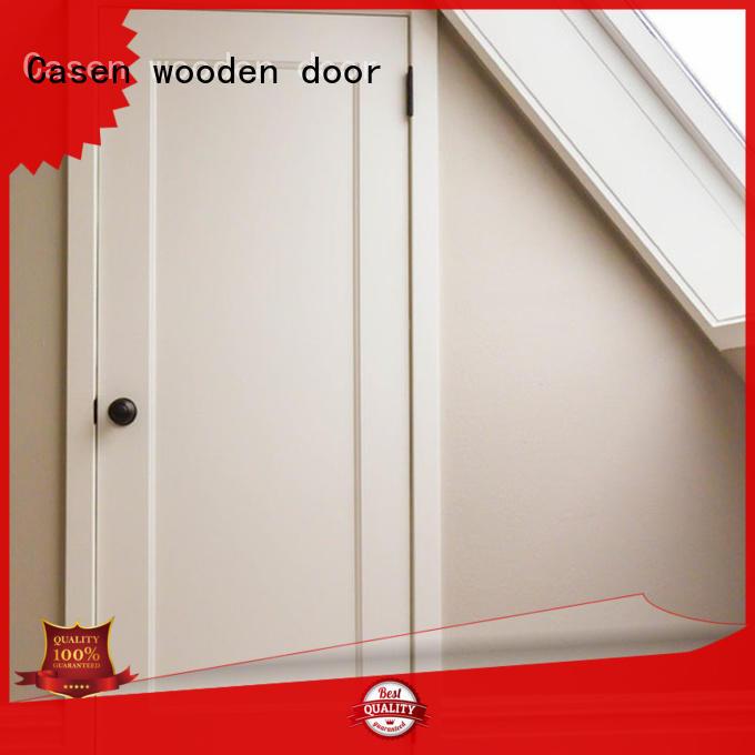white door mdf doors flat Casen Brand