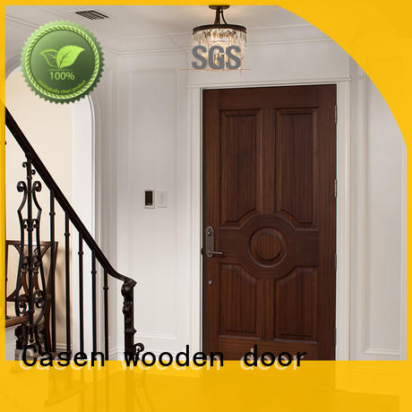 Casen fast installation mdf doors at discount for room