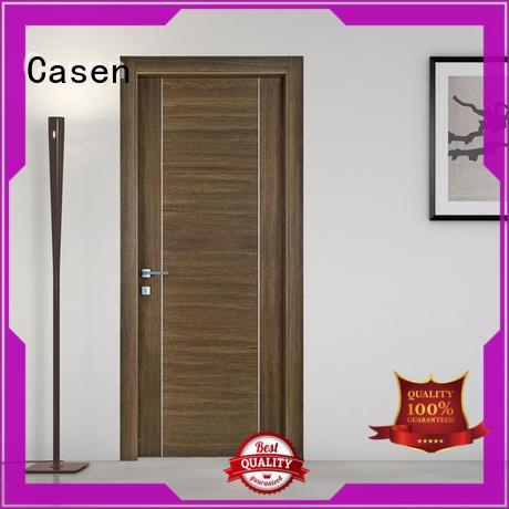 Casen classic soundproof door natural for store