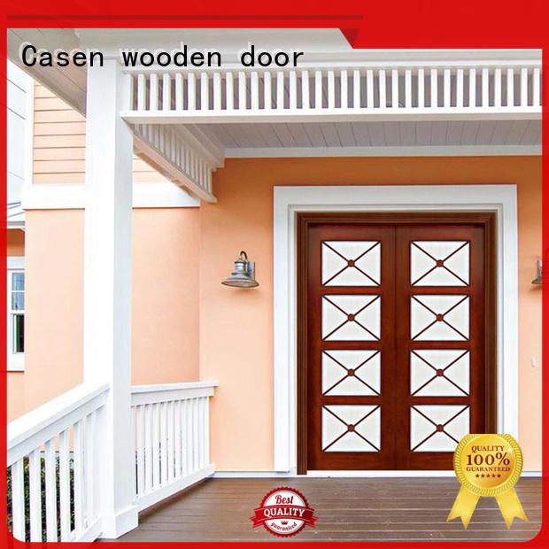 contemporary entry doors villa bevel house Casen Brand company