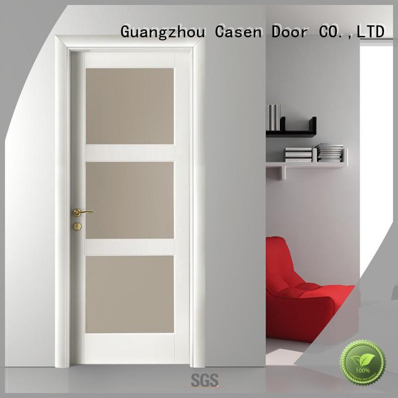 Quality Casen Brand bathroom door price bedroom white