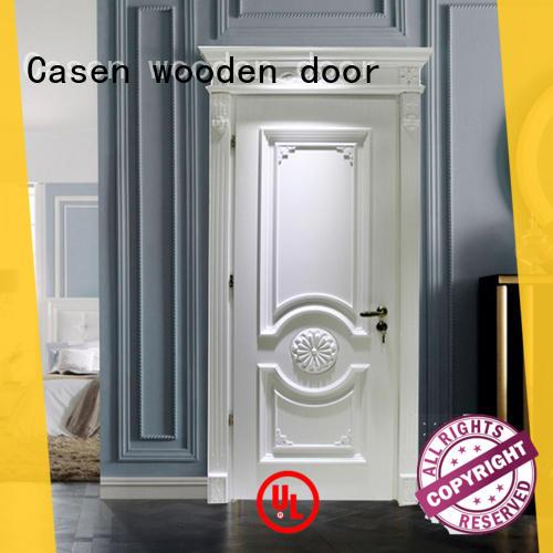 Casen carved flowers internal glazed doors modern for bathroom