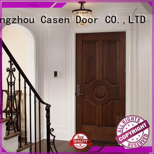 Casen Brand bedroom design solid core mdf interior doors
