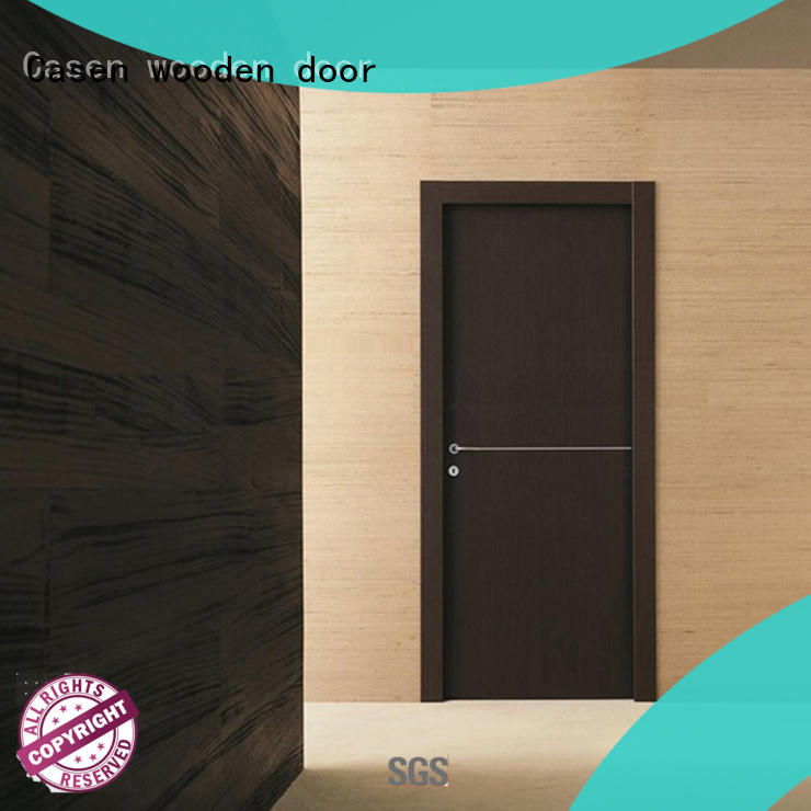Casen high-end finished interior doors stainless steel for shop