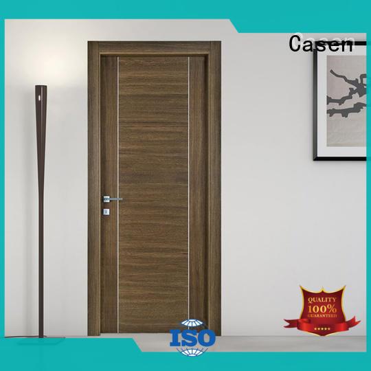 Casen ODM hardwood doors chic for hotel