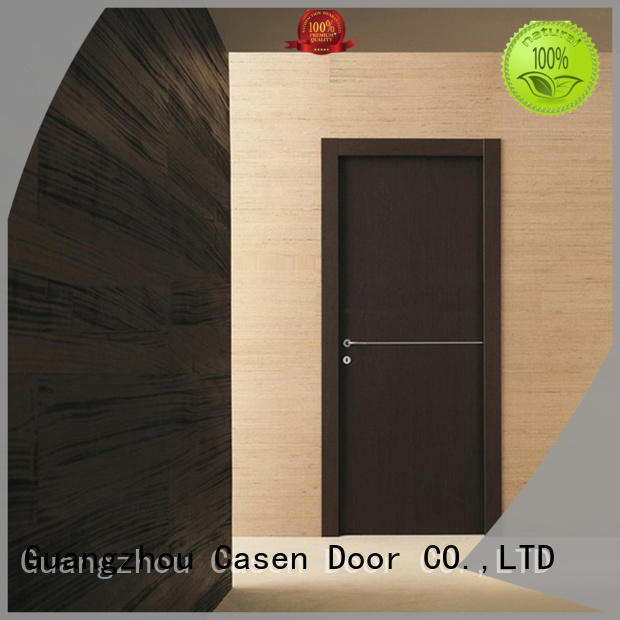 classic stainless popular solid wood interior doors Casen manufacture