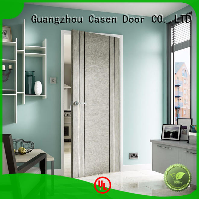 hotelclassic steel solid wood interior doors simple hotel Casen Brand