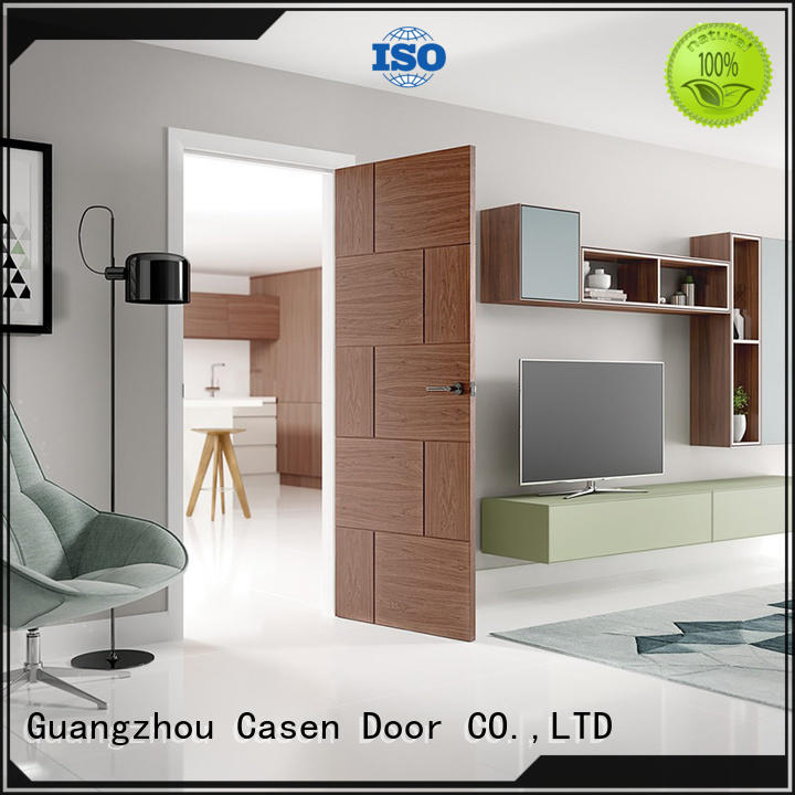 Casen high-end hardwood doors for hotel