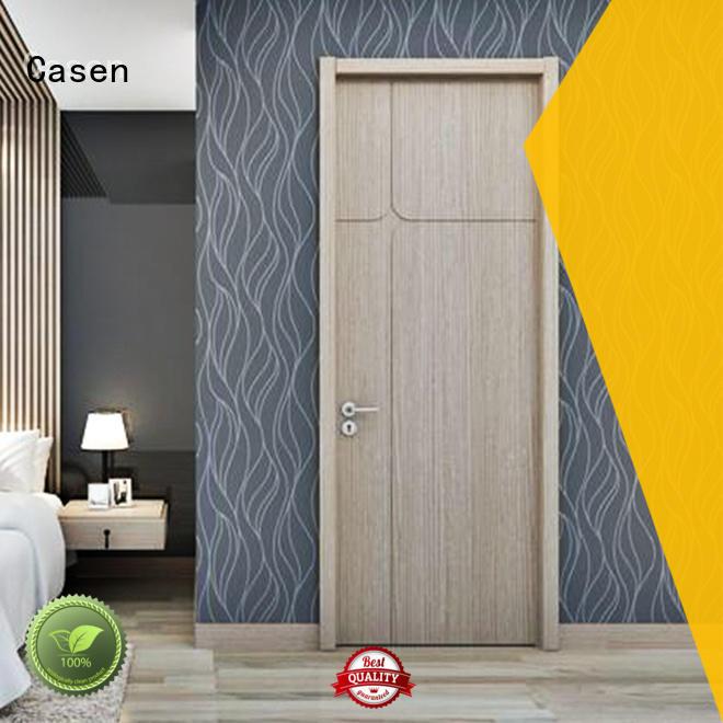 Casen Brand flat color modern doors door factory