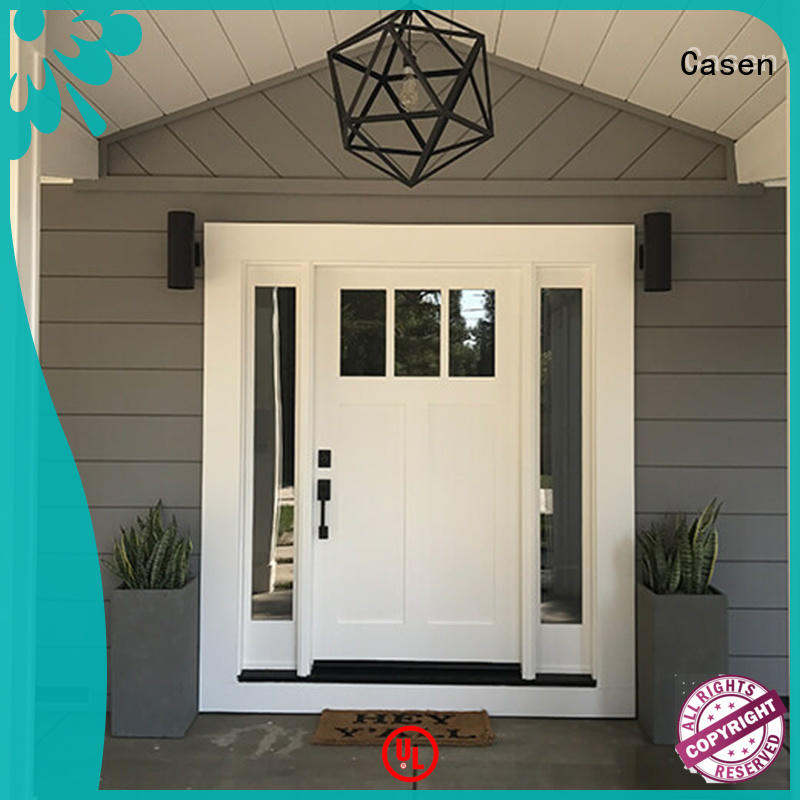 Casen cheapest factory price hdf moulded door OEM for room