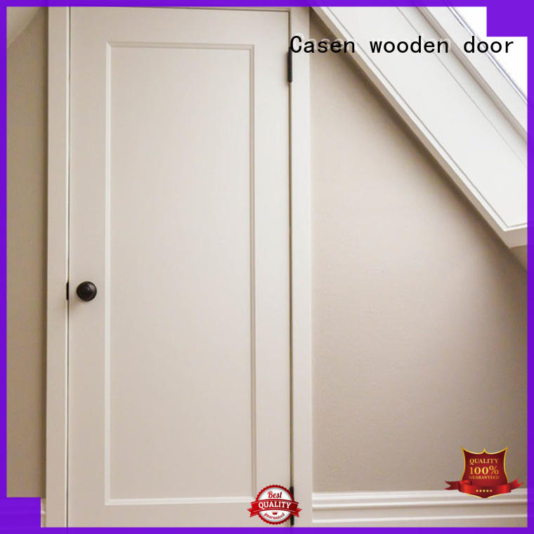 color Custom bedroom wood mdf doors Casen white