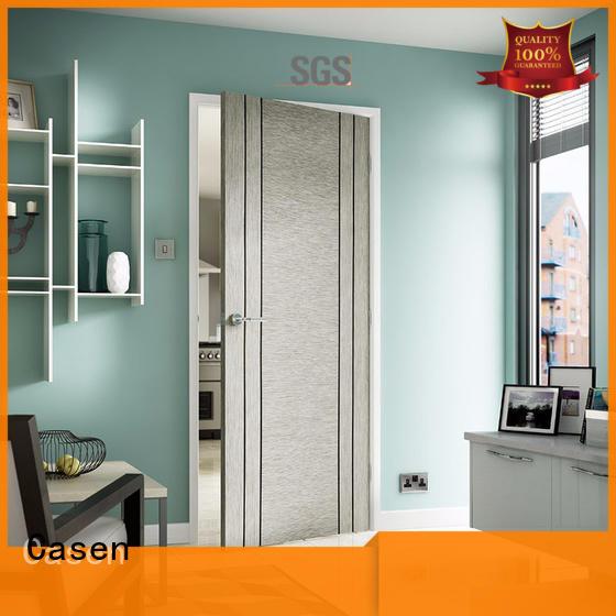 Casen Brand aluminium simple custom solid wood interior doors