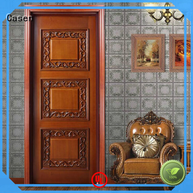 American flowers fancy doors style carved Casen company