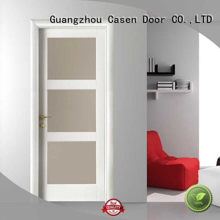 glass white OEM bathroom doors Casen