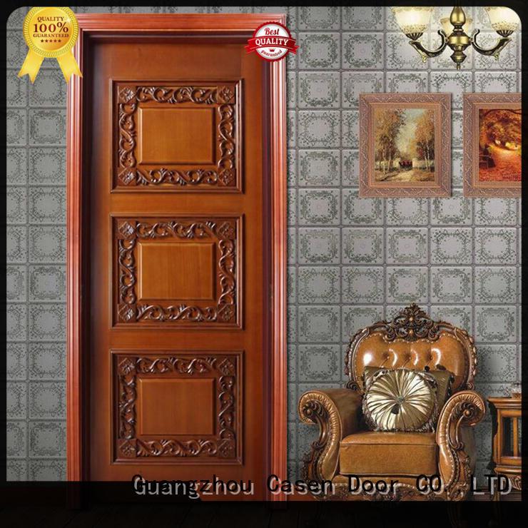Casen wooden fancy doors modern for living room