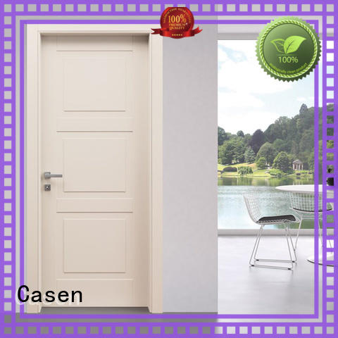 high quality 6 panel doors flat simple style for washroom