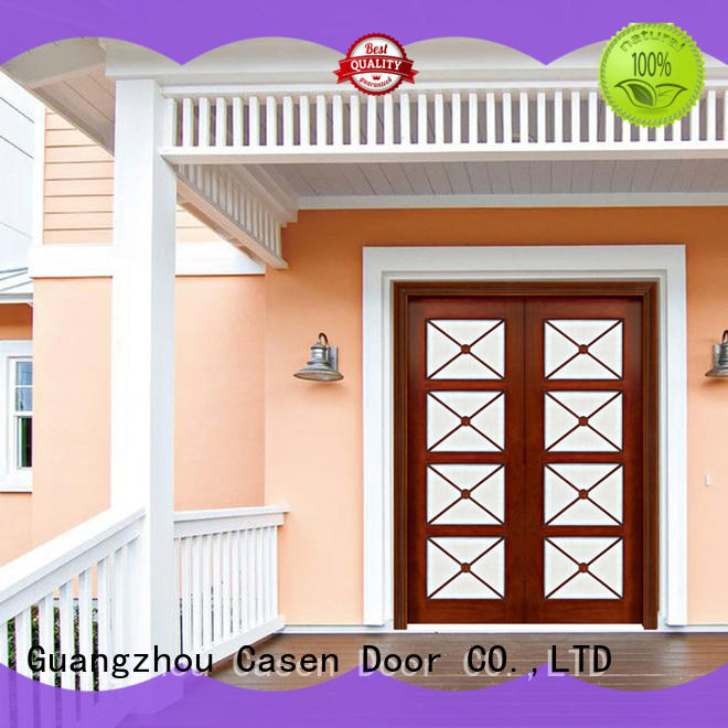 beautiful oakmain door archaistic style for store Casen