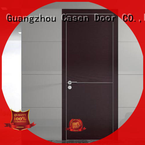 funky interior wood doors cheapest factory price for bedroom Casen