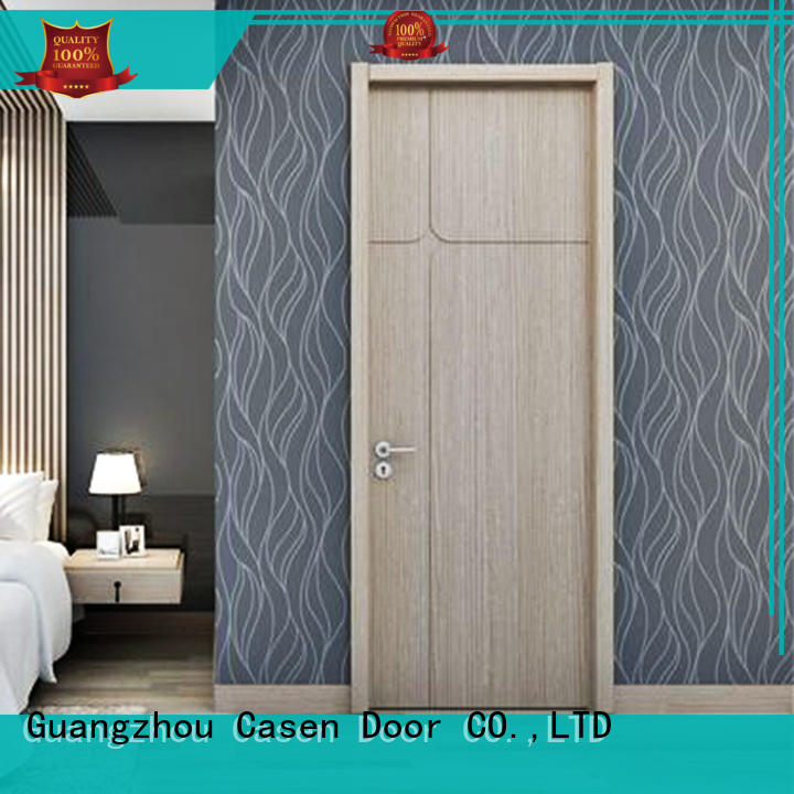 Casen fashion interior wood doors cheapest factory price for bathroom
