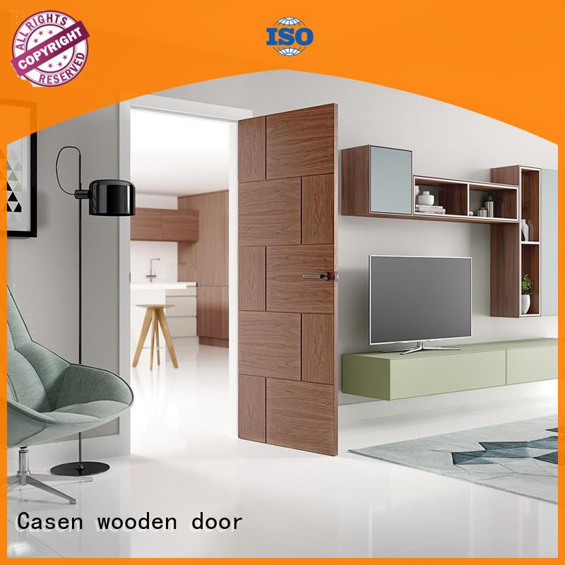 ODM wooden door luxury natural for house