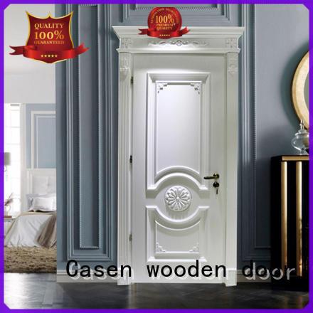 american luxury wooden doors single for bathroom Casen