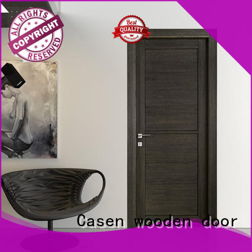 high qualitycomposite wood door white wood gray for washroom