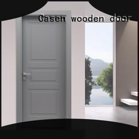Casen light color best price composite doors easy for washroom