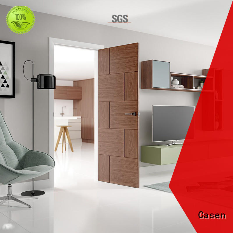 Casen aluminium modern main door design for bathroom