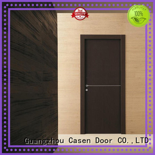 solid wood interior doors steel natural Casen Brand company