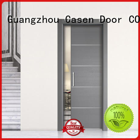 Casen half glass interior door glass aluminium for washroom