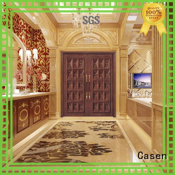 Casen Brand natural front contemporary entry doors design supplier