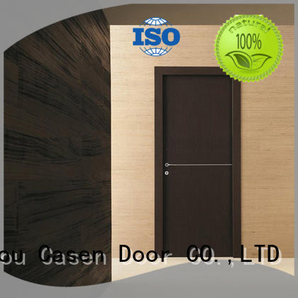 Casen high-end interior wood doors solid wood for shop
