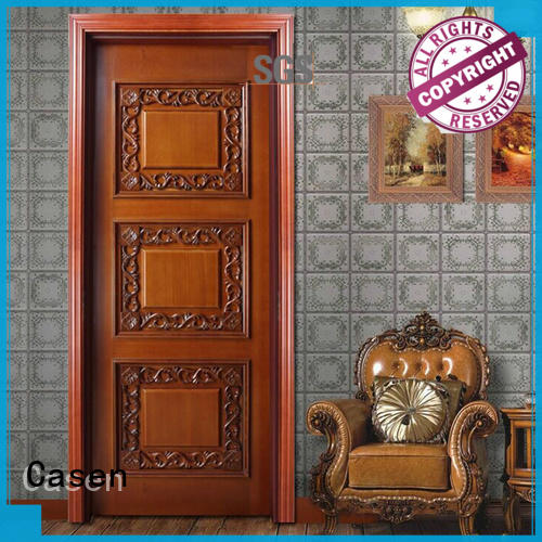 Casen white color style doors american for living room