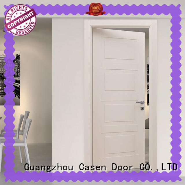 Casen light color composite wood door easy