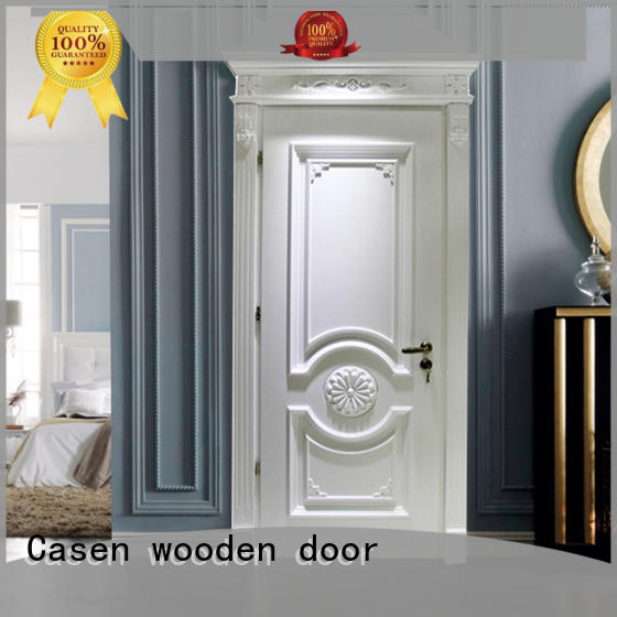 white color wooden door carved flowers single for bedroom