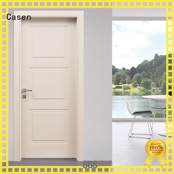 light color composite doorinterior dark