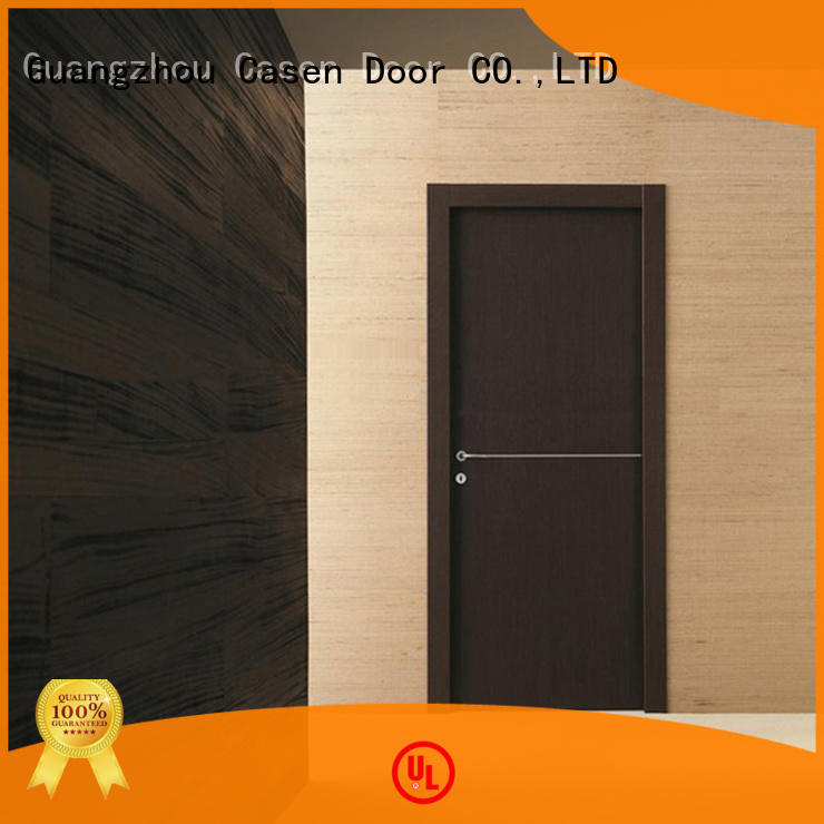 Casen chic hardwood doors solid wood for washroom