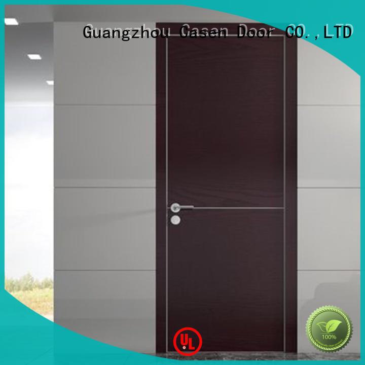 Casen simple design interior wood doors wholesale for store decoration