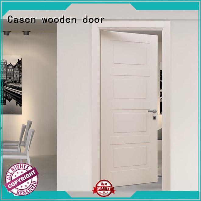 interior composite wood door gray for bathroom Casen