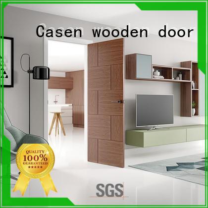 Casen wooden paint grade doors professional for washroom