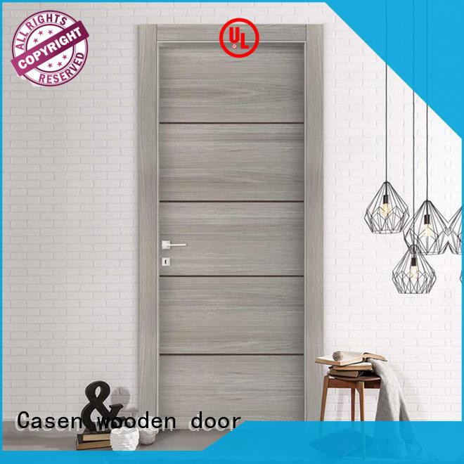 wooden half glass interior door on-sale easy for bathroom