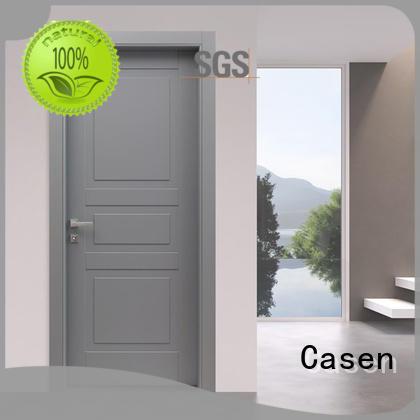 Casen white wood 6 panel doors dark for bedroom