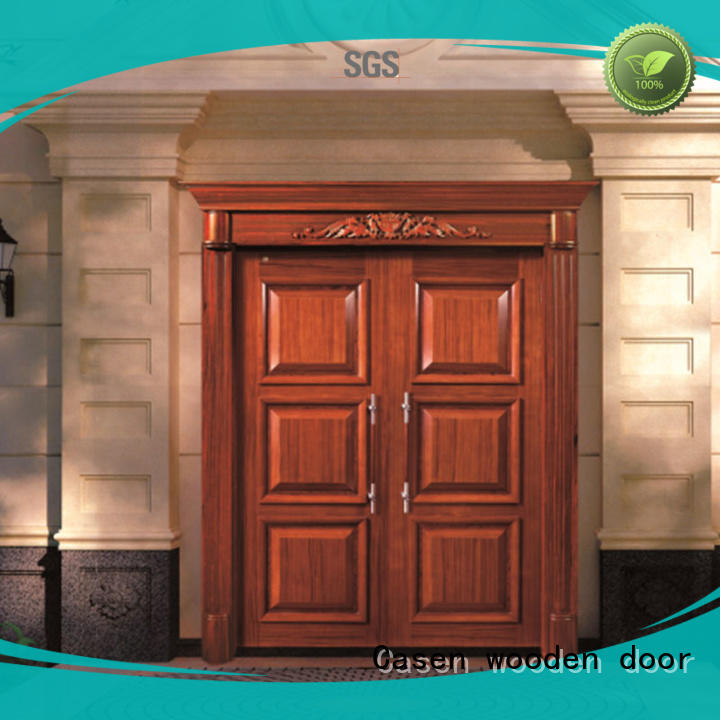 Casen glass modern entry doors front for villa